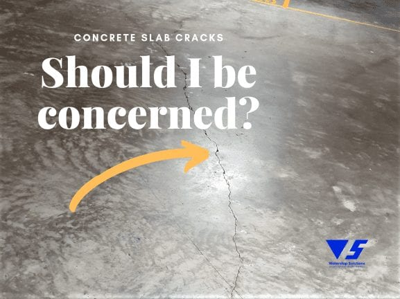 Concrete slab cracks - Should I be concerned?