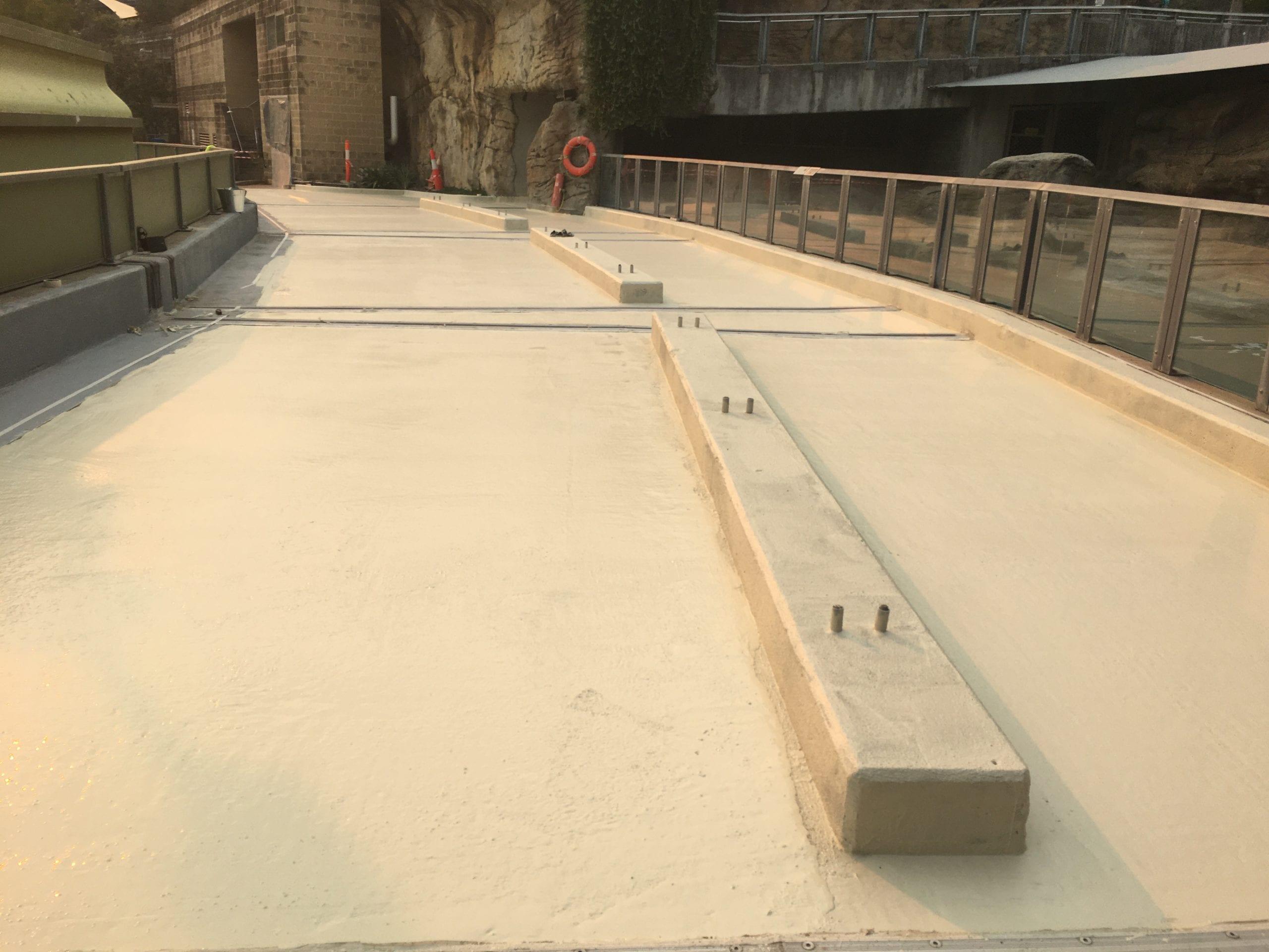 Heavy-duty trafficable waterproof membrane coating system on bridge slab - Waterstop Solutions NSW - Sydney