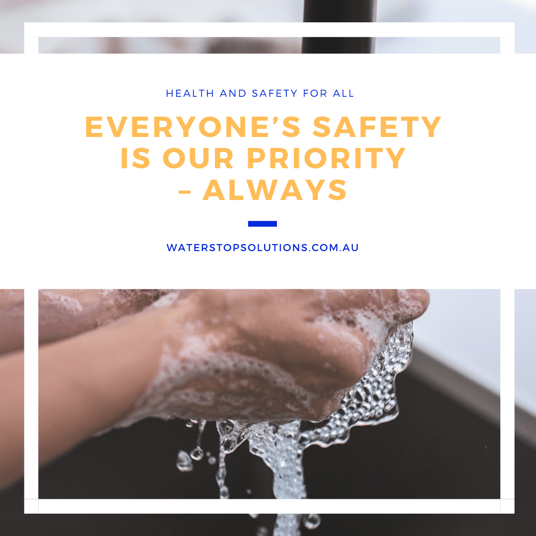 Everyone's safety is our priority – Always - Waterstop Solutions